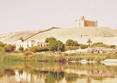 Aga Khan Mausoleum in Aswan